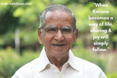 Dulichand Jain Karuna Quote